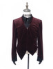 Front View w/o Skirt Piece (Burgundy Version)