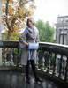 Model Show (Grey Ver.) (jacket: CT00280, silk dress: S03024, muff: P00631)