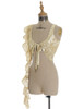 Vest Front View (Champagne Silver + Ivory Version)