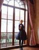 Model Show (Dark Blue Ver.) (blouse: TP00167, petticoat: UN00026, UN00027)