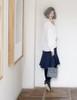 Model Show (White Version) Skirt SP00189, bag P00618