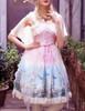 Model Show (Pink + Light Beige Ver.) (petticoat: UN00026)