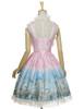 Back View w/o Capelet & Skirt Piece (Pink + Light Beige Ver.) (petticoat: UN00026, UN00027)