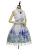 Side View w/o Capelet (Hyacinth Blue + White Ver.) (petticoat: UN00026, UN00027)