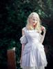Model Show (Light Ivory Ver.) (dress & necklace: DR00229, blouse: TP00168, petticoat: UN00026)