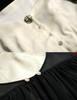 Last Chance: Vintage Retro Fashion Printed Midi Dress Ancient Greek Ethereal Summer Dress Black Ivory