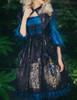 Model Show (Black + Peacock Blue Version)