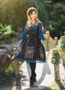 Model Show (Black + Peacock Blue Version) Hairband P00636