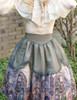 Model Show (Champagne + Green Golden Illusion Tulle Ver.) (cape: CT00294, blouse: TP00165, petticoat: UN00026)