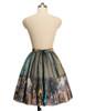 Back View (Champagne + Green Golden Illusion Tulle Ver.) (petticoat: UN00026)