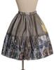 Back View (Light Grey + Golden Silver Illusion Tulle Ver.) (petticoat: UN00026)