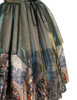 Detail View (Champagne + Green Golden Illusion Tulle Version)