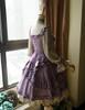 Side View under natural sunlight (Vintage Lilac + Warm Grey Ver.) (petticoat: UN00026)