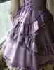 Detail View under natural sunlight (Vintage Lilac + Warm Grey Version)