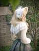 Model Show (Champagne + Ivory Lace Ver.) (cape: CT00294, blouse: TP00165, skirt: SP00192, petticoat: UN00026)