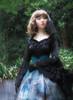 Model Show (Black Ver.) (headdress: P00570, gloves: P00581, skirt set: SP00195+SP00162, petticoat: UN00026)
