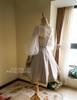 Back View w/o Hood & Shawl (White Ver.) (birdcage petticoat: UN00019)
