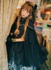 Model Show (Black Ver.) (headdress: P00608, P00589, dress underneath: DR00237, petticoat: UN00019, gloves: P00581)
