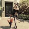 Model Show (hat: P00598, cape: CT00298, shorts: SP00191, shoes: D00012)