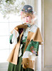 Model Show (Pale Ivory Version) Jacket CT00308, Kimono CT00309, Hat P00648, Skirt SP00198