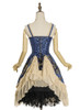 Back View (Mercury Blue + Ivory Ver.) (petticoat: UN00026)