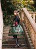 Model Show (Black Ver.) (headdress: P00636, dress: DR00239, blouse: TP00170, petticoat: UN00026, gloves: P00581, spats: P00602)