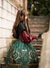 Model Show (Black Ver.) (headdress: P00636, dress: DR00239, blouse: TP00170, petticoat: UN00026, gloves: P00581)