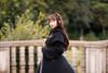 Model Show (Black Ver.) (headdress: P00636, coat: CT00301, dress: DR00239, petticoat: UN00026, gloves: P00581)