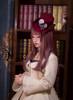 Model Show (Burgundy Ver.) (coat: CT00306, dress underneath: DR00160N, choker from TP00163)