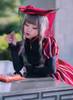 Model Show (Burgundy Ver.) (dress: DR00245, underdress: DR00187, wristlets: P00530)