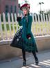 Model Show (Burgundy Ver.) (coat: CT00263, dress: DR00245, underdress: DR00187, petticoat: UN00026)