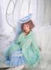 Model Show (Sky Blue Ver.) (hat: P00645, sweater: D00028, blouse: TP00173, petticoat: UN00026)