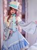 Model Show (Sky Blue Ver.) (hat: P00614, blouse: TP00175, petticoat: UN00026)