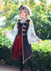 Model Show (Burgundy Ver.) (headdress: P00622, blouse: TP00175, long vest: CT00137, neck ribbon from TP00172)