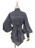 Back View when side buttons buttoned