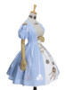 Front Side View w/o bust patch (Sky Blue + White Ver.) (petticoat: UN00026)