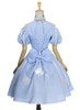 Back View (Sky Blue + White Ver.) (petticoat: UN00026)
