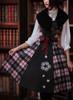 Model Show (Pink & Black Plaid Ver.) (blouse: TP00167, petticoat: UN00019)
