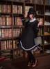 Model Show (Black Ver.) (hat: P00604, blouse underneath: TP00167, dress underneath: DR00246, petticoat underneath: UN00019, bag: P00618)