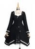 Front View w/o fur scarf (Black Ver.) (petticoat: UN00026)