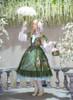 Model Show (Green Ver.) (headdress: P00646, blouse underneath: TP00176, gloves: P00572, petticoat underneath: UN00019, UN00029) other items NOT for sale