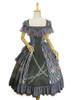 Front View w/o brooch (Grey Ver.) (petticoat underneath: UN00019, UN00029)