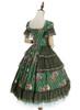 Back Side View (Green Ver.) (petticoat underneath: UN00019, UN00029)