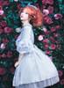 Model Show (Pale Blue Rain + Grey Mixed Underdress Ver.) (hat: P00652, petticoat: UN00019)