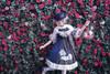 Model Show (Dark Blue Storm + White Underdress Ver.) (hat: P00652, brooch: P00651, petticoat: UN00019, socks: AD00903)