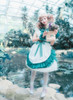 Model Show (White + Emerald Green Ver.) (petticoat: UN00026)