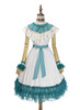 Front View (White + Emerald Green Ver.) (petticoat: UN00026)