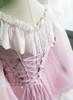 Detail View under natural sunlight (Baby Pink Version)