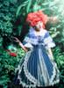 Model Show (Neptune Ver.) (headdress: P00651, blouse underneath: TP00177, petticoat: UN00026, gloves: P00581)