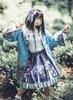 Model Show (Dark Blue + Pale Mint Ver.) (headdress: P00655, jacket: CT00312, blouse: TP00179)